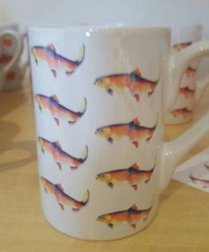 Check out this item in my Etsy shop https://www.etsy.com/uk/listing/481852355/mugs-fish-mugs-decrotive-mugs-rainbow