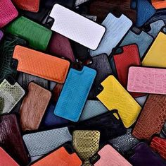 www.DominieLuxury.com 128 different colors in genuine snake, iguana, stingray, and crocodile skin. You can bet we're #excited about our new Exotic Skin Covers for the #iPhone 5