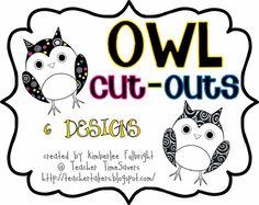 Teacher Time Savers: Owl Designs   # Pinterest++ for iPad #