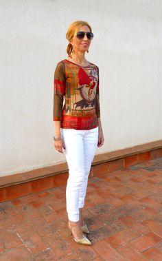 Camiseta, modelo tauromaquia, de Save the Queen,  19 euros