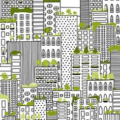 City Life by Alicia Jacobs-Dujets!  http://inkandarrowfabrics.com/fabrics/search-results.asp?collectionID=1