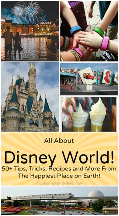 All About Disney World! Tricks, Tips, Recipes and more for your Disney trip.