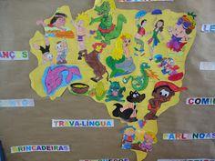 TEMA :      Folclore        CLIENTELA :      Maternal 1, 2 e 3/ Educação      Infantil  ÁREA DE CONHECIMENTO    * Identidade e Autono...