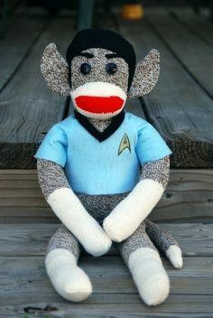 Spock Monkey. $49 by beatrice