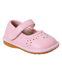 Light Pink Madeleine Squeaker Mary Jane