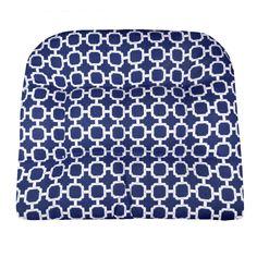 hockley navy blue indoor outdoor dining chair pads u0026 patio cushions fade resistant mildew resistant