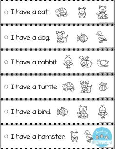 Free reading fluency and comprehension sentence strip education kindergarten worksheets week 8 first of numbered passages English Worksheets For Kids, 1st Grade Worksheets, Phonics Worksheets, Reading Worksheets, Free Kindergarten Worksheets, Preschool Learning Activities, Kindergarten Literacy, Literacy Centers, Kindergarten Reading Comprehension