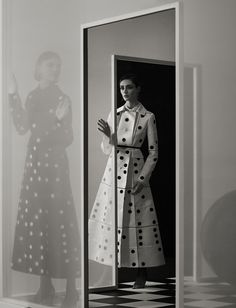Dior magazine no. 23, photographed by Jutta Hetta. Styled by Hannes Hetta. Models: Amanda Googe and Oumie Jammeh. #dior