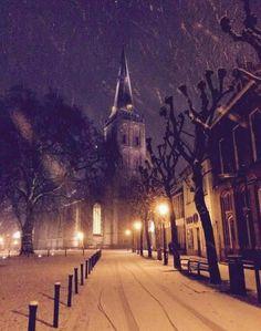 Lochem-centrum in winterse sfeer ......