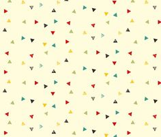 thermos triangles (heidikenney)  http://www.spoonflower.com/fabric/1146086#