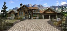 Rocklin - Log Homes, Cabins and Log Home Floor Plans - Wisconsin Log Homes. LOVE this floor plan.
