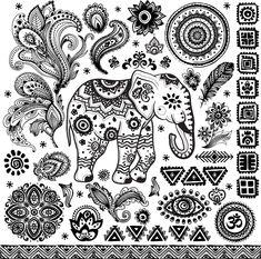 Thai Elephant tattoo idea