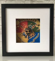 Harry Potter Funko Pop Figure Boxed Frame Wall by BenjoCreations