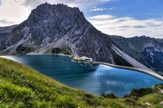 Luenersee in Vorarlberg, Austria