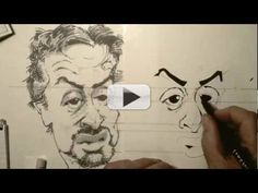 [Video] Caricature Drawing the Easy Way