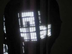 2,048 full gray scale LEDs running at 60 fps from an SD card based controller. From EroGear.