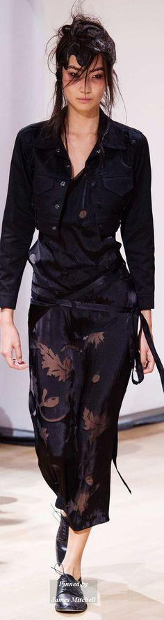 Yohji Yamamoto Collection Spring 2015 Ready-to-Wear