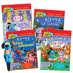 """<strong>The Big Idea </strong> </br></br> Preschoolers love using """"Ace""""—the Talking, Teaching Dog™ as they enjoy these fun stories, eac"""