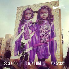 Morning fitness workout.  #run #runner #run4fun #runlife #running #runnerscommunity #instarunning #instarunners #somosrunners #workout #corrida #correr #nike #nikeplus #nikeplusrunners #healthylife #lifestyle #runaddict #runeveryday #justdoit #runtoinspire #fitlife #runchat #seenonmyrun #worlderunners #nrc #getgoing #tomtom #graffitiart #graffiti