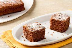 Chocolate, almond and chestnut cake