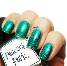 Whimsical Peacock Park