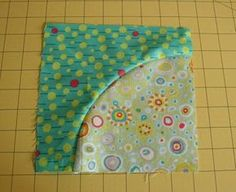 Tutorial for sewing circles...something I could have used a week ago making my dad's quilt.