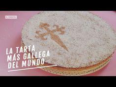La tarta de Santiago es un símbolo de Galicia, y también uno de los postres más fáciles de hacer que existen. Pasa de versiones industriales y aprende a prepararla en casa. Pancakes, Cheese, Breakfast, Ethnic Recipes, Sacher, Youtube, Facebook, Videos, Gastronomia