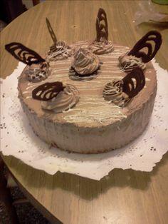 Torta chocolate con mousse de chocolate