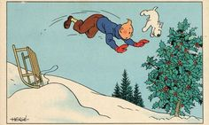 Celebrate Tintin's birthday this week by stepping inside the colourful world of Hergé's creations, displayed in the free exhibition at Somerset House in London, ending 31 January Tintin Au Tibet, Tintin Au Congo, Jim Henson, Batman, Superman, Happy New Year 2016, Ligne Claire, Book Sites, Billie Holiday
