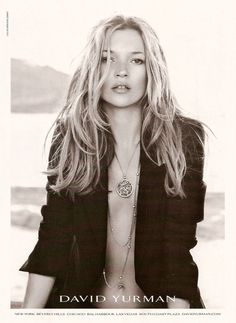 Kate Moss for David Yurman 2007