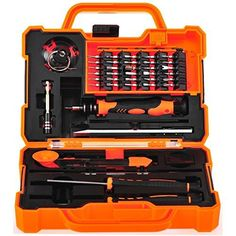 awesome Anseahawk Professional Precision Screwdriver Set (45 in 1) Repair Tools Kit for Smartphone Tablet Laptop Computer Electronics fit iPhone, iPad, Samsung Galaxy / Tab, HTC, LG, OnePlus and More