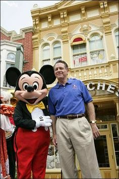 """You must read """"The Customer Rules"""" by Lee Cockerell. It's a great read for any Disney fan and for anybody in customer service industries."""