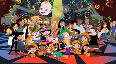 Phineas and ferb Characters by crys46321.deviantart.com on @deviantART