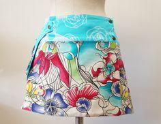 http://muchastelas.com/blog/2014/05/04/falda-pareo-reversible/  Skirt tutorial pattern patrón free gratis