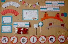 Woodland Forest Friends Party Package  DIY by xxPepperAvenuexx, $38.00