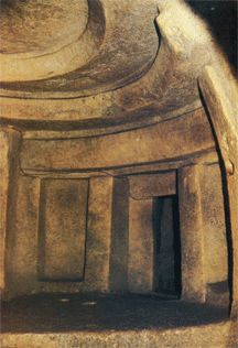 Sacred Sites and Megalithic Mysteries: Researchers detected the presence of a strong double resonance frequency at 70Hz and 114Hz inside a 5,000-years-old mortuary temple on the Mediterranean island of Malta. The Ħal Saflieni Hypogeum is an underground complex created in the Neolithic (New Stone Age) period as a depository for bones and a shrine for ritual use.