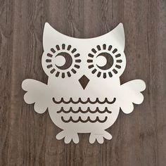 An owl AND a mirror - love love!!