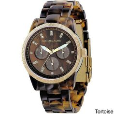 Michael Kors Women's Watch | Overstock.com Shopping - The Best Deals on Michael Kors