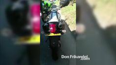 Policias encuentran modalidad para evadir identificación de motocicletas