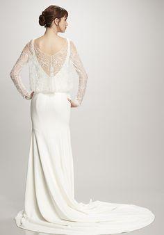 THEIA Amber Sheath Wedding Dress
