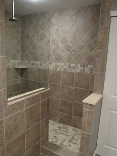 Spaces Walk In Shower Tiles Design, Pictures, Remodel, Decor and Ideas - page 5