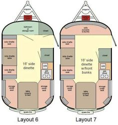 Scamp 16' travel trailer floorplans - we love our layout, #6