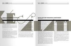LACK magazine / 2011 by kissmiklos , via Behance