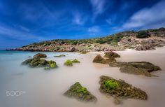 Playa de Bolonia II - Fotografía Larga exposición en la playa de Bolonia. Cádiz