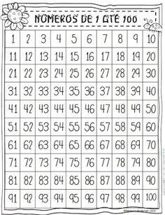 100 Chart Puzzles (First Grader. 100 Chart, Number Worksheets, Stem Science, First Grade Math, Math Class, Number Sense, Teaching Math, Kids Learning, Activities For Kids