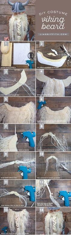 DIY Kid's Viking Costume