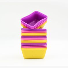 Hippih 24-pack Silicone Mini Bear Reusable Cupcake and Muffin Baking Cup,three Vibrant Colors(Oblong) >>> For more information, visit image link.