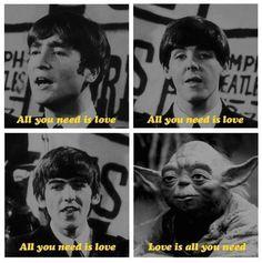 Sing it, Yoda