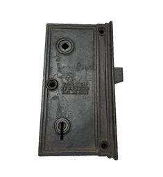 Super Large Sargent Antique Vertical Rim Lock Patented 1885