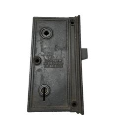 Super Large Sargent Antique Vertical Rim Lock Patented 1885 Pocket Door Pulls, Pocket Doors, Cupboard Knobs, Door Knobs, Antique Hardware, Antique Copper, Solid Brass, Antiques, Handmade